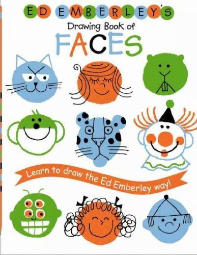 9780316236096: Ed Emberley's Drawing Book of Faces