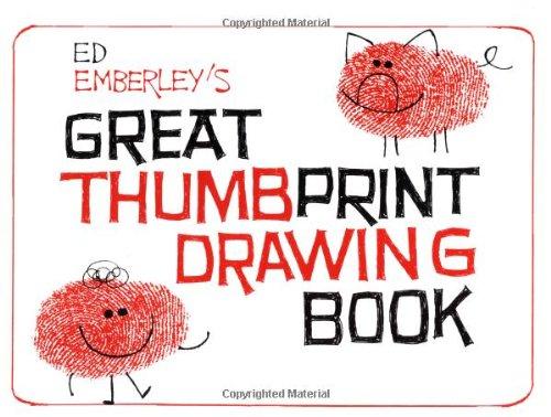 Great Thumb Print Drawing Book
