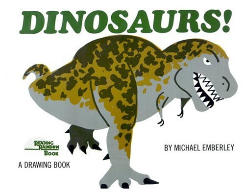 9780316236317: Dinosaurs!: A Drawing Book (Reading Rainbow)