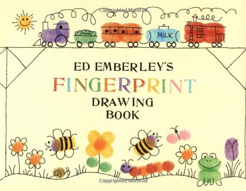 9780316236386: Ed Emberley's Fingerprint Drawing Book