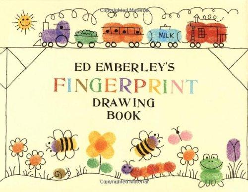 9780316236386: Ed Emberley's Fingerprint Drawing Book
