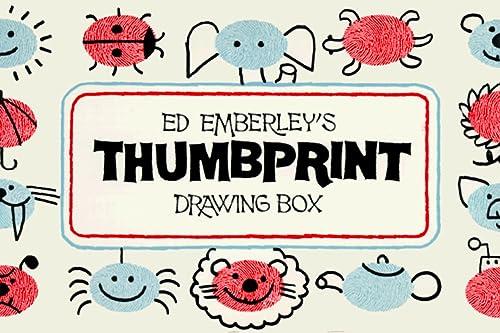9780316236485: Ed Emberley's Thumbprint Drawing Box/3 Paperbacks and an Ink Pad