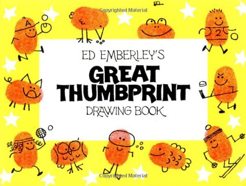 9780316236683: Great Thumb Print Drawing Book
