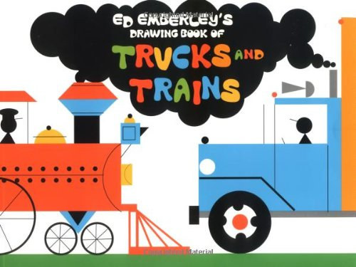 9780316237864: Ed Emberley's Drawing Book of Trucks and Trains