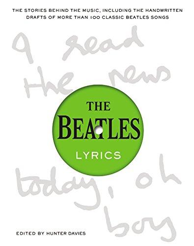 The Beatles Lyrics (Hardcover): Hunter Davies