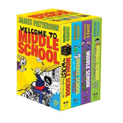 Middle School Boxed Set: James Patterson, Chris