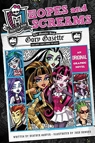 9780316254335: Monster High: Hopes and Screams: An Original Graphic Novel