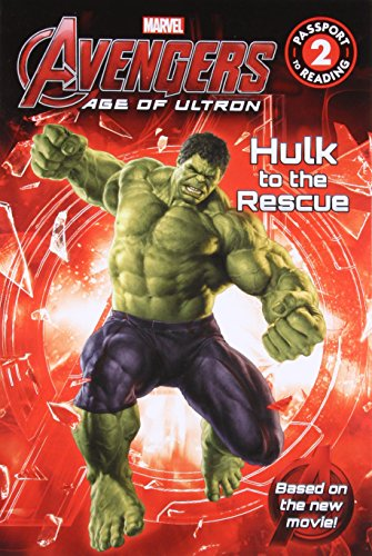 9780316256407: Marvel's Avengers: Age of Ultron: Hulk to the Rescue (Passport to Reading)