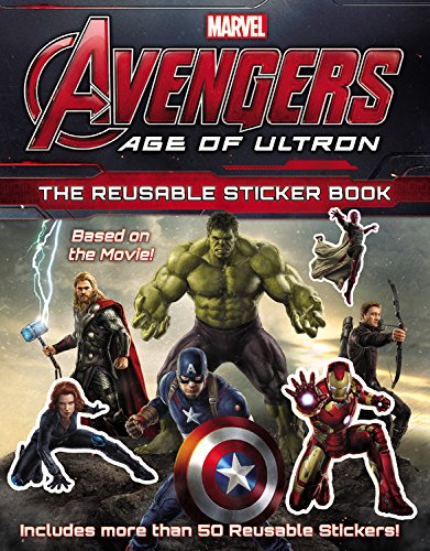 9780316256421: Marvel's Avengers: Age of Ultron: The Reusable Sticker Book