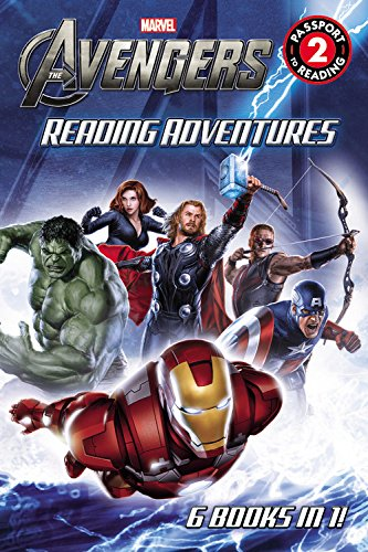 9780316257497: Marvel's The Avengers Reading Adventures (Passport to Reading Level 2)
