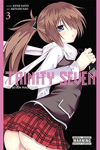 9780316263689: Trinity Seven, Vol. 3: The Seven Magicians