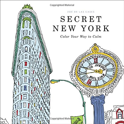 9780316265836: Secret New York: Color Your Way to Calm