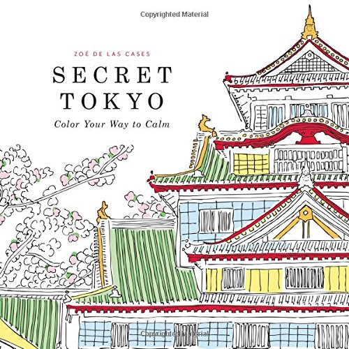 9780316265843: Secret Japan: Color Your Way to Calm