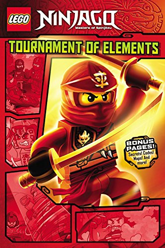 9780316266086: LEGO Ninjago: Tournament of Elements (Graphic Novel #1) (Lego Ninjago Masters of Spinjitzu)