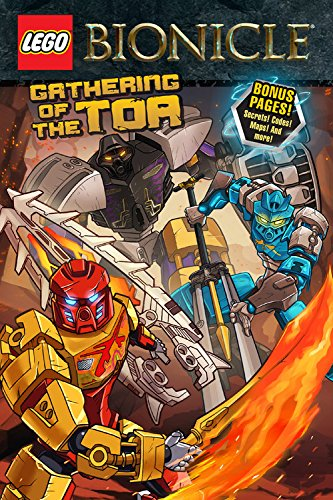 9780316266222: LEGO Bionicle: Gathering of the Toa (Graphic Novel #1)