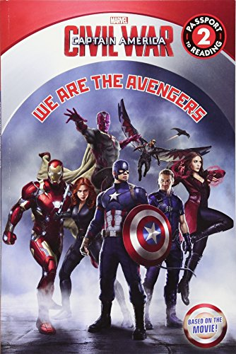 9780316271431: Marvel's Captain America: Civil War: We Are the Avengers (Passport to Reading, Level 2)