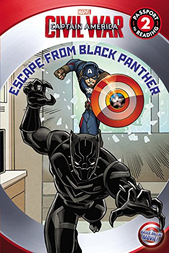 9780316271448: Marvel's Captain America: Civil War: Escape from Black Panther (Passport to Reading Level 2)