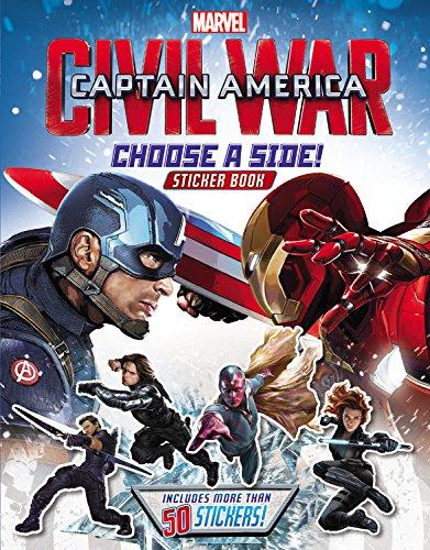 9780316271455: Marvel's Captain America: Civil War: Choose a Side Sticker Book