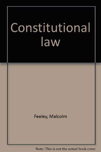 9780316276863: Constitutional law