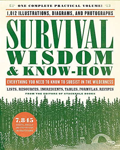 9780316276955: Survival Wisdom & Know How: Everything You Need to Know to Subsist in the Wilderness