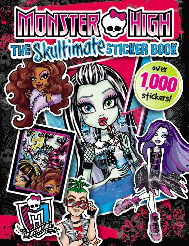9780316277068: Monster High. The Skultimate Sticker Book