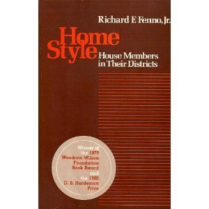 9780316278096: Home Style, House Members in Their Districs