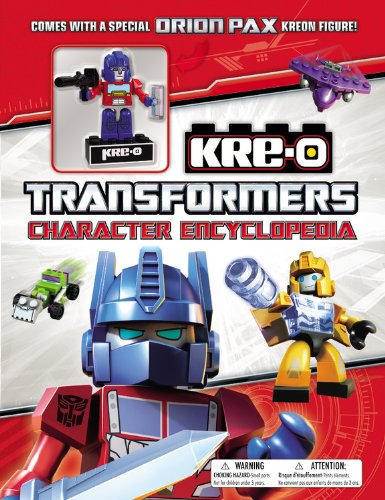 Transformers Kre O Character Encyclopedia With Special Figure
