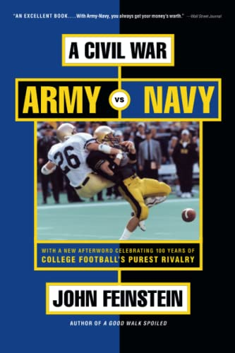 9780316278249: A Civil War: Army Vs. Navy a Year Inside College Football's Purest Rivalry