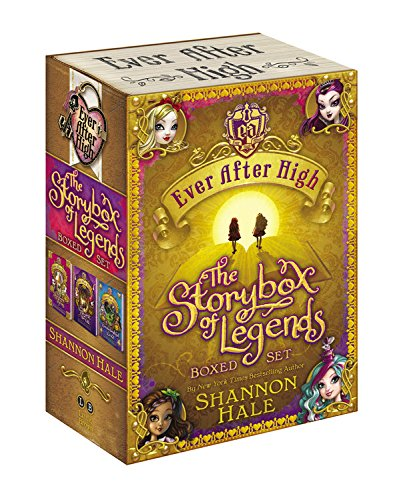 Ever After High: The Storybox of Legends Boxed Set (Hardcover): Shannon Hale