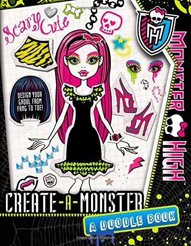 9780316287210: Monster High: Create-a-Monster: A Doodle Book