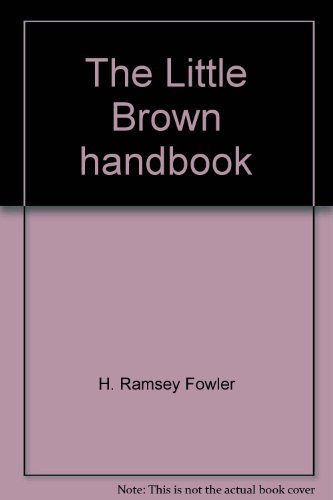 9780316289955: The Little, Brown Handbook