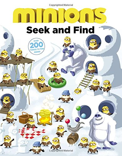 9780316299978: Minions. Seek and Find