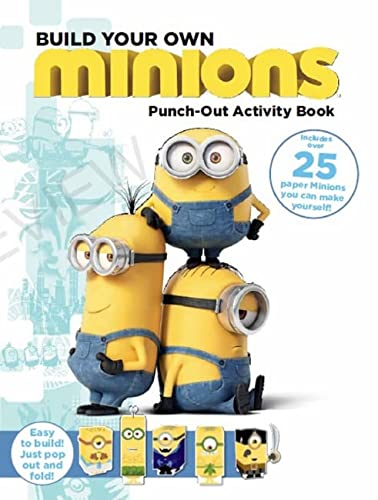 9780316299992: Minions: Build Your Own Minion Punch-out Activity Book
