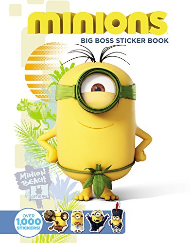 9780316300018: Minions: Big Boss Sticker Book