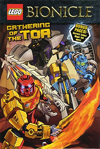 9780316309127: LEGO Bionicle: Gathering of the Toa (Graphic Novel #1)