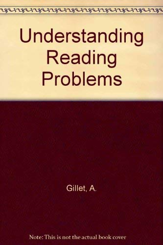 9780316313520: Understanding Reading Problems