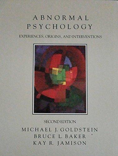 9780316319591: Abnormal Psychology