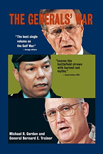 9780316321006: The Generals' War: The Inside Story of the Conflict in the Gulf