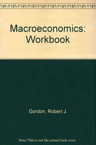 9780316321082: Macroeconomics: Workbook