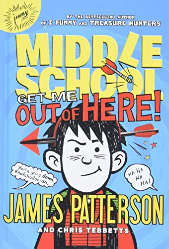 9780316322010: Middle School: Get Me out of Here!