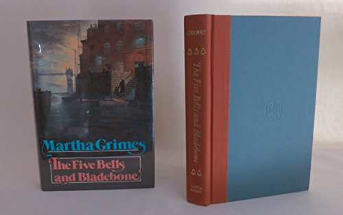 The Five Bells and Bladebone: Grimes, Martha *Author SIGNED/INSCRIBED!*