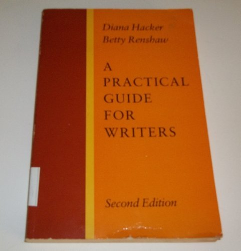 9780316336932: A practical guide for writers
