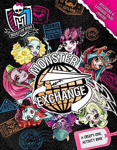 9780316337434: Monster High: Monster Exchange: A Creepy-Cool Activity Book