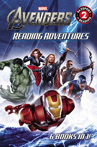 9780316338394: Marvel's The Avengers Reading Adventures (Passport to Reading Level 2)