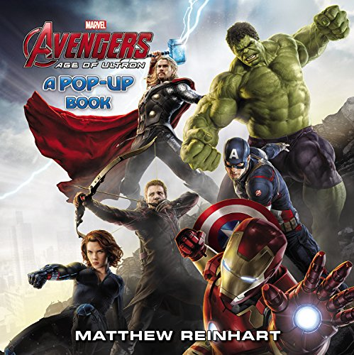 Marvels Avengers Age of Ultron A Pop Up Book