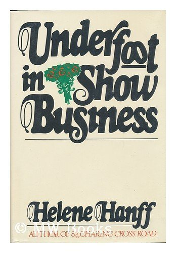 9780316343190: Underfoot in show business