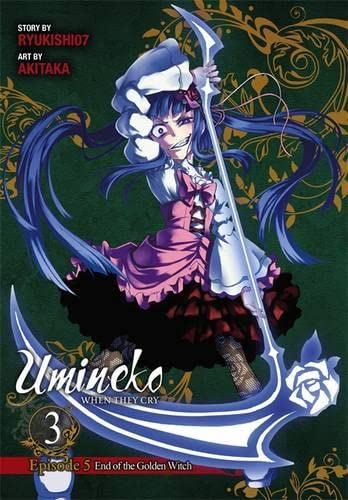 9780316345866: Umineko When They Cry, Episode 5: End of the Golden Witch, Vol. 3