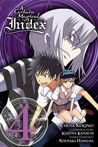 9780316345972: A Certain Magical Index, Vol. 4 - manga (A Certain Magical Index (manga))