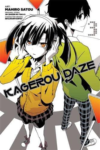 9780316346207: Kagerou Daze, Vol. 3 - manga (Kagerou Daze Manga)