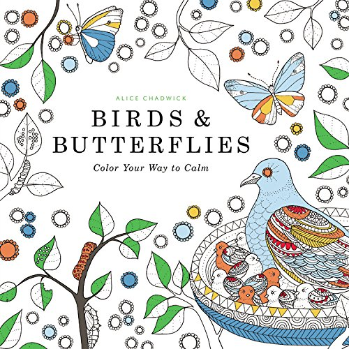9780316350051: Birds & Butterflies: Color Your Way to Calm